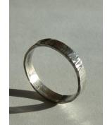 Strieborný prsteň - KORA