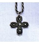 Strieborný prívesok kríž - CELTIC