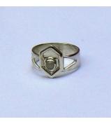 Strieborný prsteň - KAMEN
